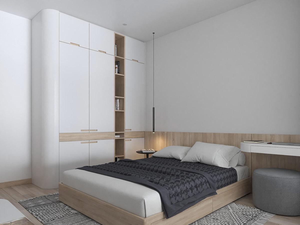 Tư vấn thiết kế nhà cấp 4 diện tích 65m² một tầng 3 phòng ngủ với chi phí 70 triệu đồng - Ảnh 8.
