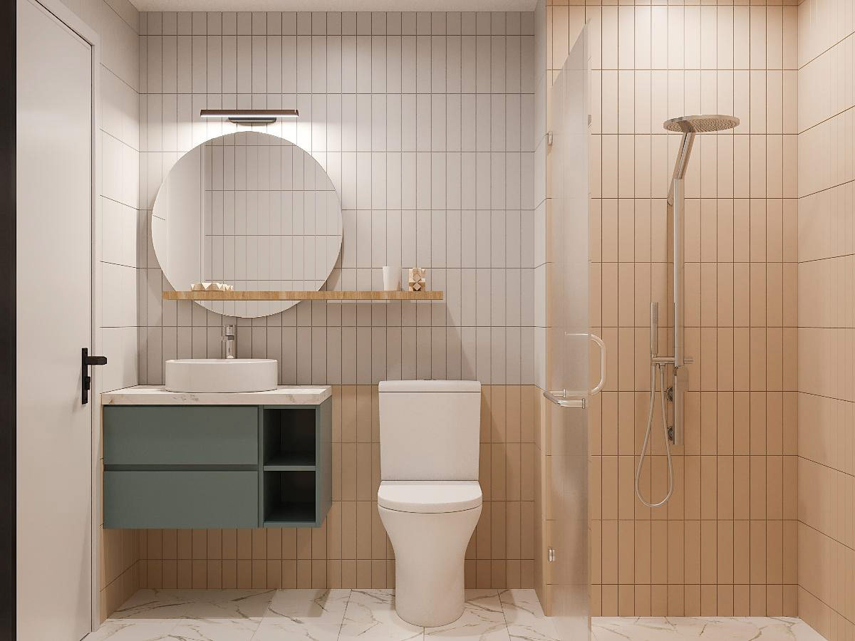 Tư vấn thiết kế nhà cấp 4 diện tích 65m² một tầng 3 phòng ngủ với chi phí 70 triệu đồng - Ảnh 12.