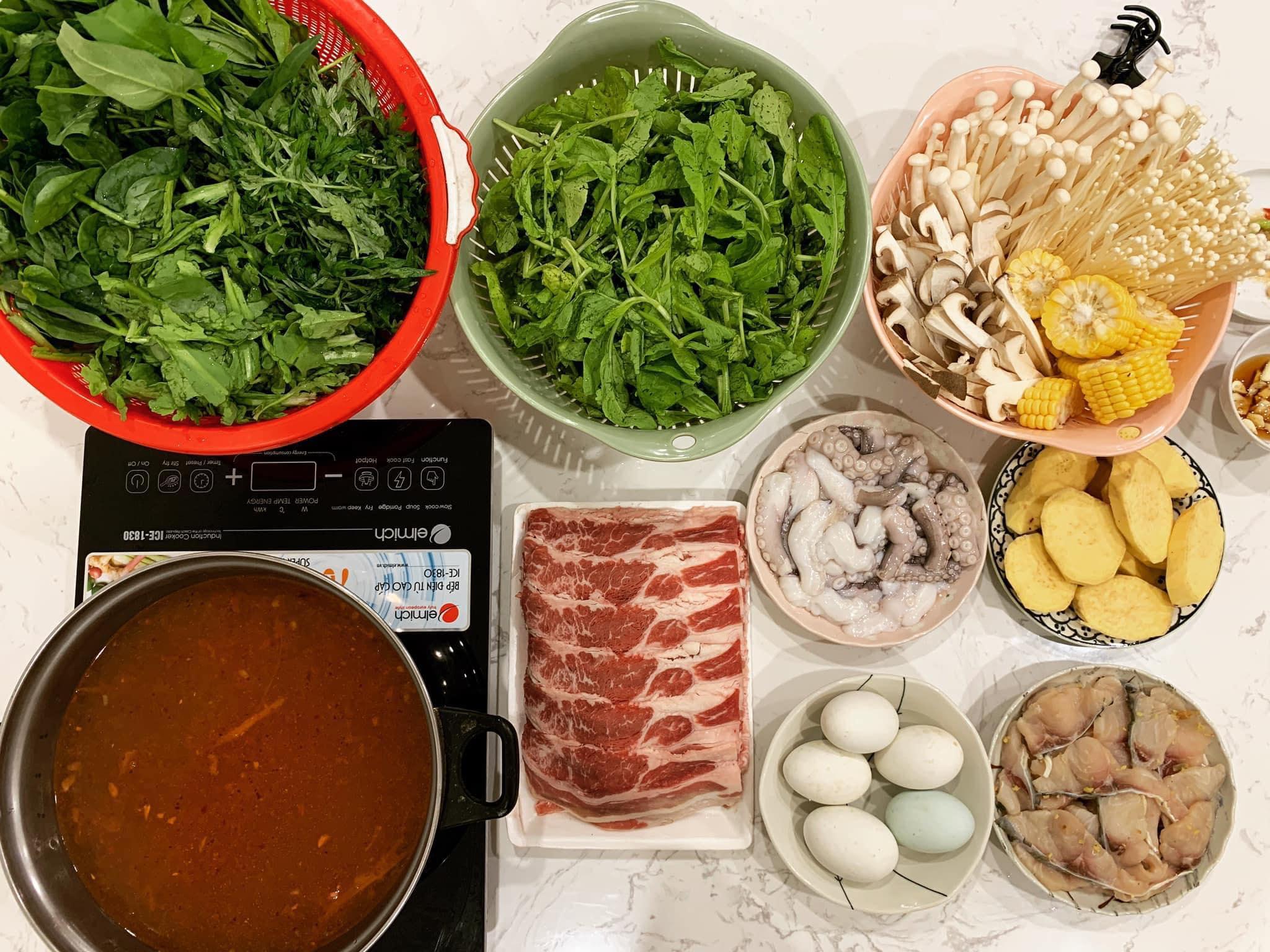 Chi phí chỉ từ 100k nhưng mỗi bữa cơm của bà nội trợ Hà Nội đều tươm tất đủ món thơm ngon, bổ dưỡng cho mọi thành viên gia đình - Ảnh 13.