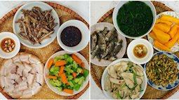 Chi phí chỉ từ 100k nhưng mỗi bữa cơm của mẹ đảm ở Hà Nội đều tươm tất đủ món thơm ngon, bổ dưỡng cho mọi thành viên gia đình