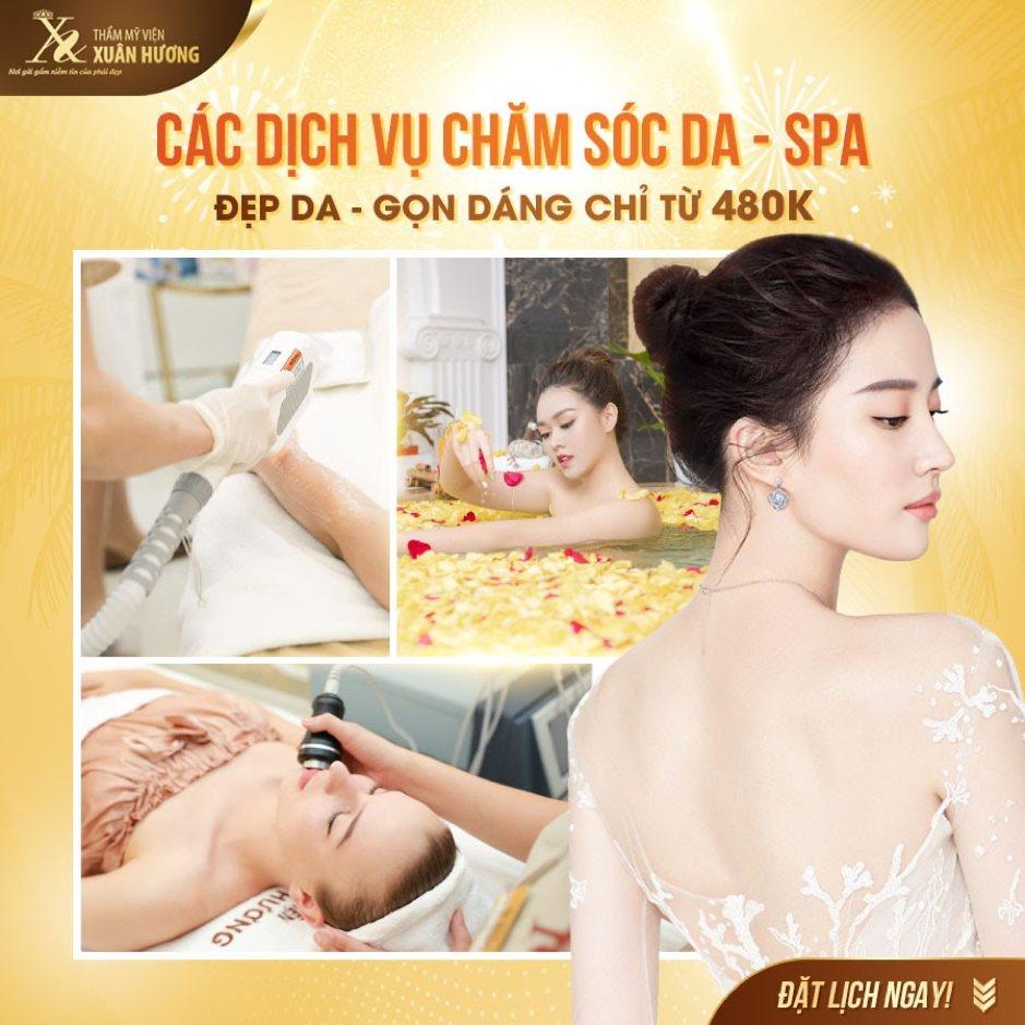 Chăm sóc da - spa với ưu đãi lên tới 70% tại TMV Xuân Hương