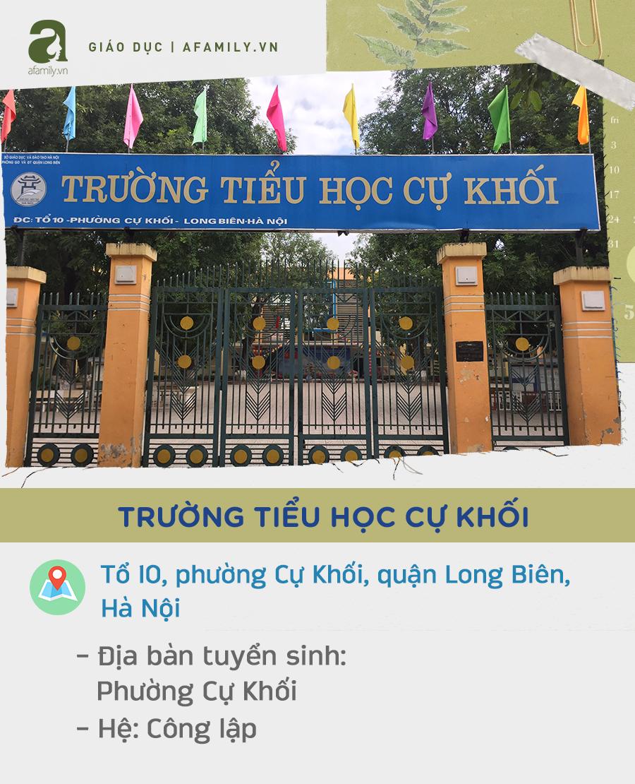 Danh sách các 29 trường tiểu học ở quận Long Biên, đặc biệt nhất là trường này dạy chương trình song ngữ hệ Cambridge - Ảnh 27.
