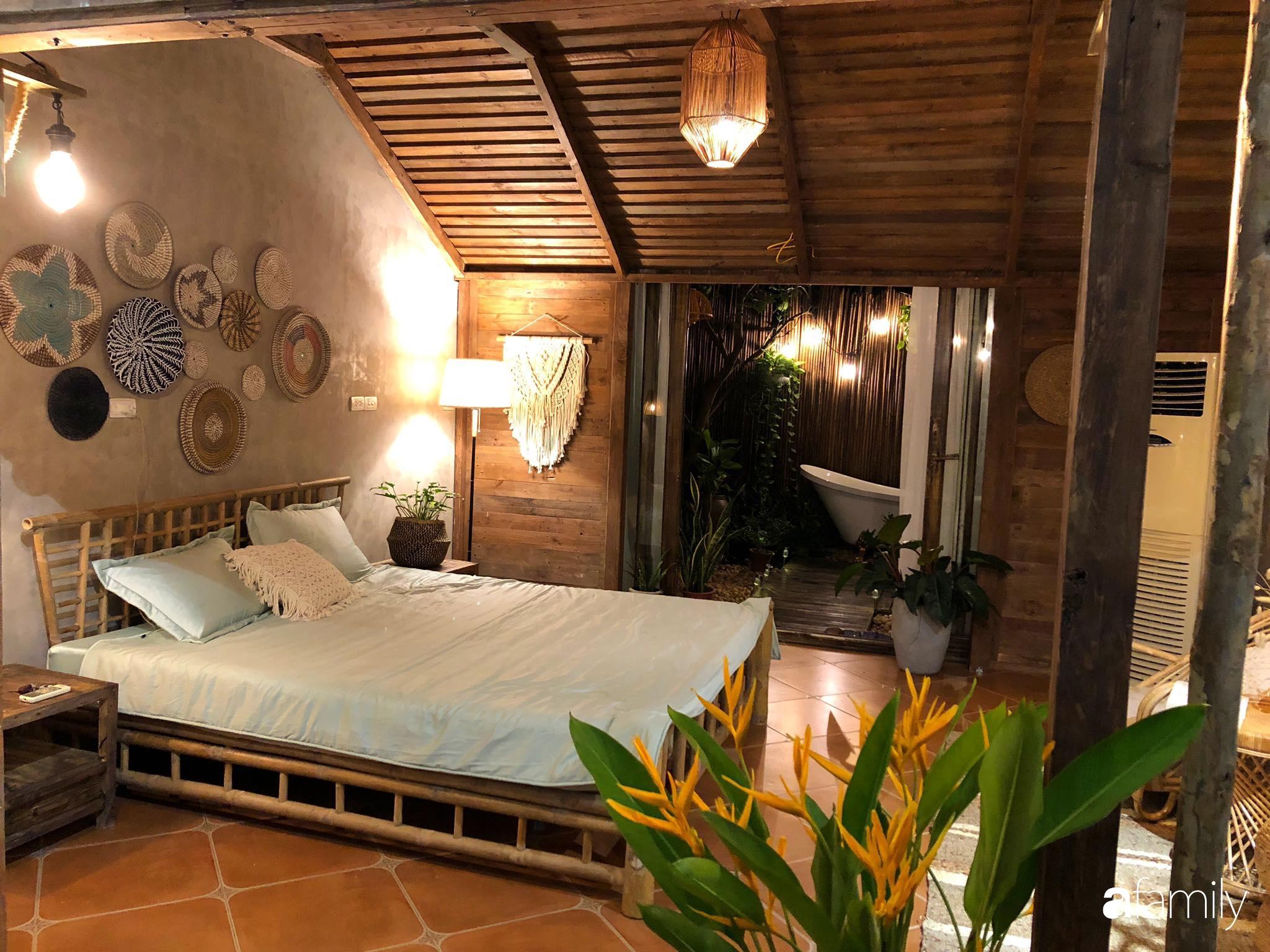 Chỉ hai tuần cải tạo với chi phí 133 triệu đồng, căn nhà cũ biến thành không gian đẹp như resort cao cấp giữa lòng Hà Nội - Ảnh 6.