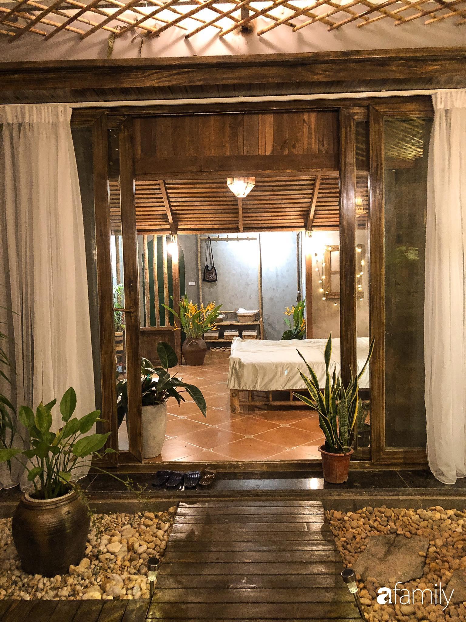 Chỉ hai tuần cải tạo với chi phí 133 triệu đồng, căn nhà cũ biến thành không gian đẹp như resort cao cấp giữa lòng Hà Nội - Ảnh 13.