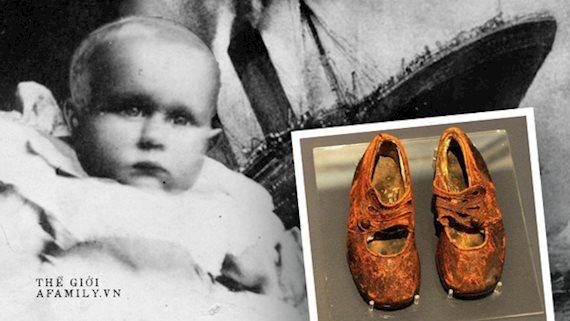 """Danh tính của """"em bé vô danh"""" trong vụ chìm tàu Titanic được hé lộ nhờ chiếc giày nhỏ trong viện bảo tàng sau gần 100 năm"""