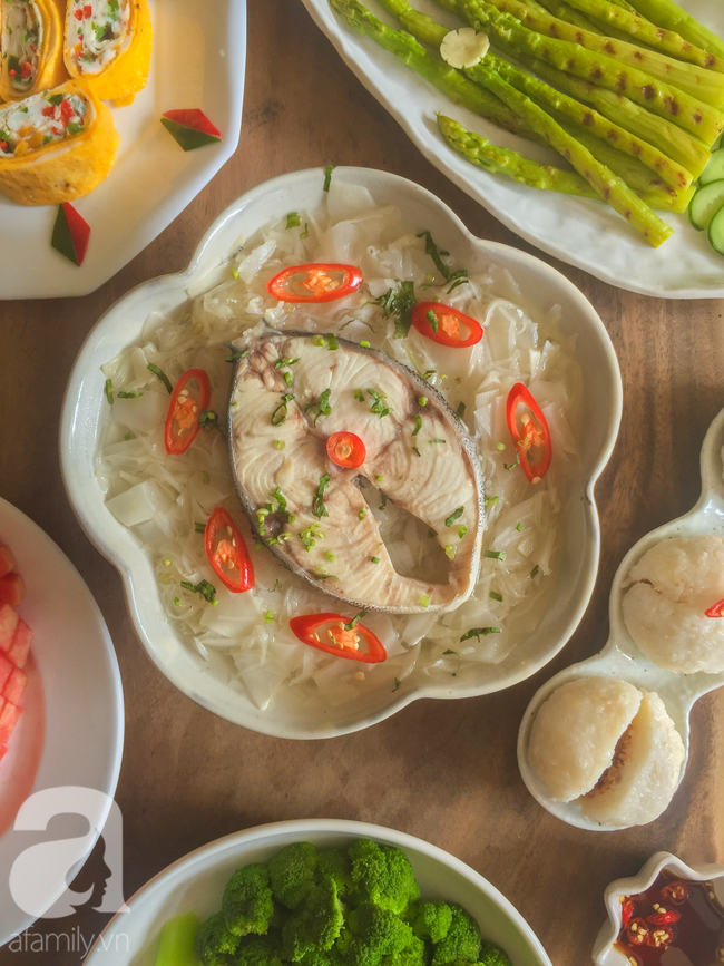 Mâm cơm cuối tuần 7 món ngon đẹp dễ nấu mẹ nào cũng trổ tài làm được - Ảnh 12.