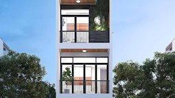 Ngắm mẫu nhà phố 4 tầng hiện đại, siêu sang trọng