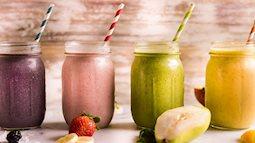 Đổi vị cho bữa sáng với 4 món sinh tố ngon lành vừa giúp giảm cân lại phòng ung thư và thích nhất là làm da đủ ẩm căng mịn