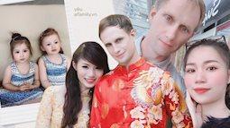 """Cô gái Việt làm dâu Anh quốc, có """"năng lực"""" khiến mẹ chồng luôn """"về cùng phe"""" mỗi khi tranh cãi với chồng, """"lãi"""" hai bé con xinh như thiên thần"""