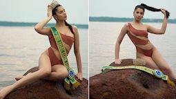 Tân Hoa hậu Trái đất Brazil tung bộ ảnh nóng 'bỏng mắt' với bikini