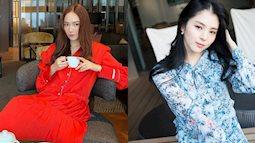 """Sao Hàn diện váy liền mùa Thu: Nàng """"tiểu tam hot nhất xứ Hàn"""" cũng góp vui với bộ váy hoa đẹp mê ly"""