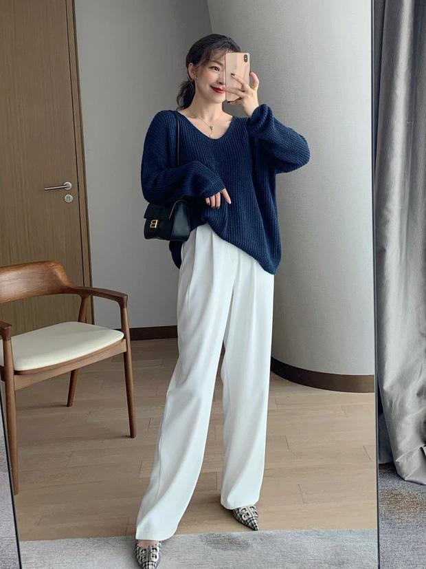Nàng blogger lên đồ mặc đẹp cả tuần dễ như ăn kẹo với toàn item cơ bản - Ảnh 1.
