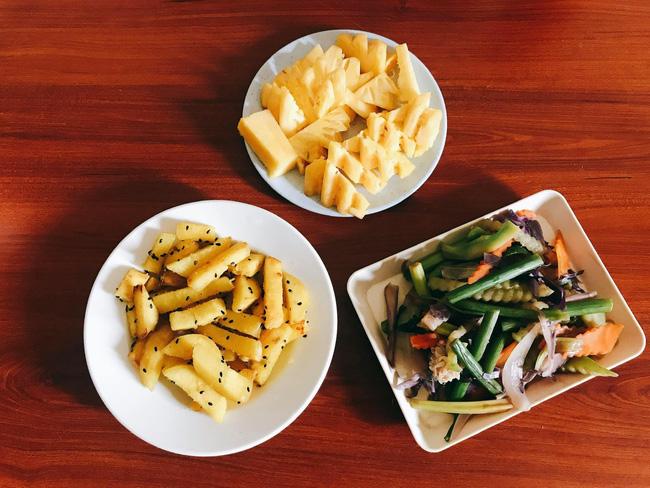 Hội chị em giảm cân không thể bỏ qua loạt thực đơn khoai lang ăn cả tuần không chán do 9X mặt đẹp dáng xinh chia sẻ - Ảnh 8.