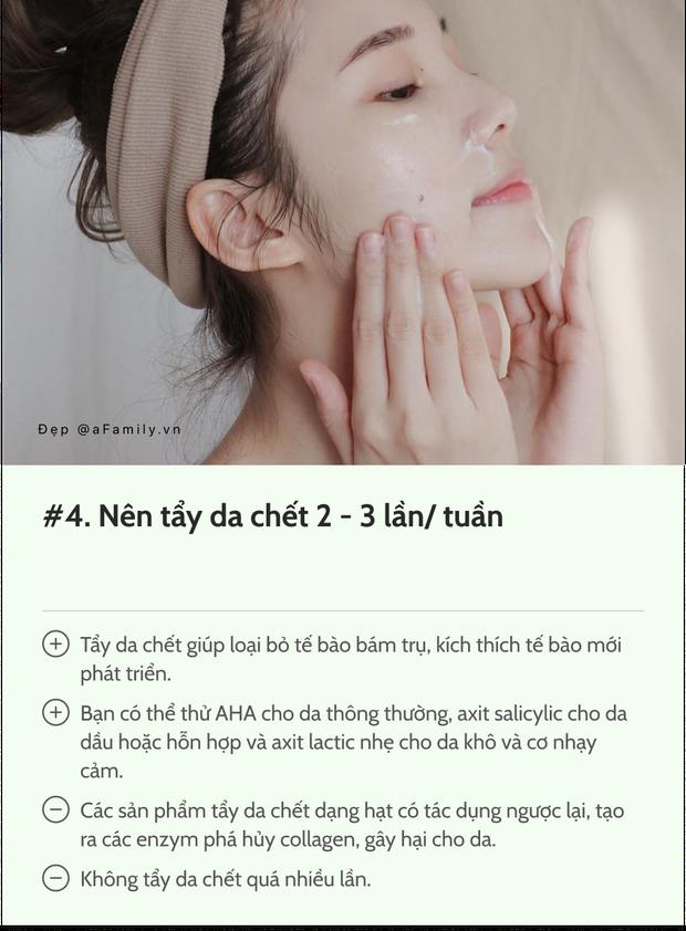 12 điều bác sĩ da liễu muốn các chị em nhớ kỹ để mặt tiền sáng mịn: Da đẹp không phải tự nhiên mà có! - Ảnh 4.