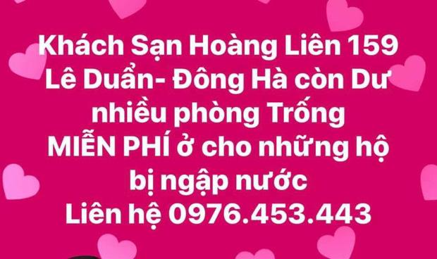 Nhiều người dân Quảng Trị đồng loạt lên mạng kêu cứu khi lũ bất ngờ lên nhanh trong đêm - Ảnh 7.