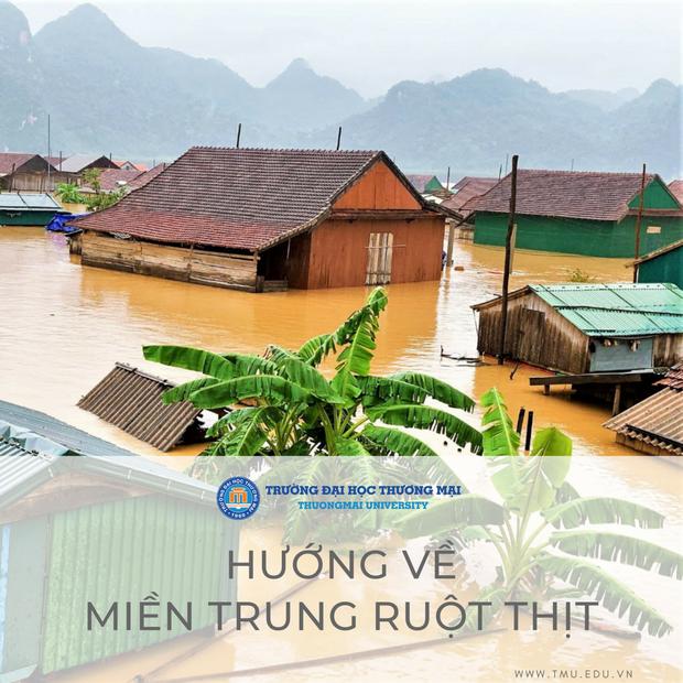 Trường Đại học hỗ trợ 10 triệu đồng cho mỗi sinh viên quê vùng lũ lụt - Ảnh 1.