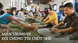 Ngay lúc này: Hàng trăm người tại Hà Nội đang tập hợp nhau nấu cho kịp 2.000 chiếc bánh chưng mỗi ngày để gửi nhanh đến đồng bào miền Trung ruột thịt!