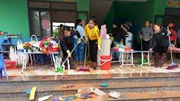 Hơn 100 nghìn học sinh Hà Tĩnh trở lại trường sau lũ lụt