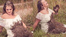 Hình ảnh người phụ nữ bầu vượt mặt kêu gào giữa đám côn trùng lúc nhúc gây sởn da gà, nhưng sự thật không như mọi người tưởng