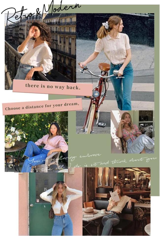 Áo blouse + quần jeans: Combo giúp nàng công sở trông sang như gái Pháp trong ngày Thu - Ảnh 1.
