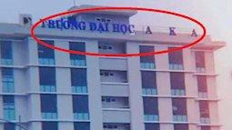 Trường đại học ở Đà Nẵng bị bão cuốn bay chữ, ra thông báo sinh viên nhặt được thì cất giúp khiến ai nấy vừa buồn cười vừa thương