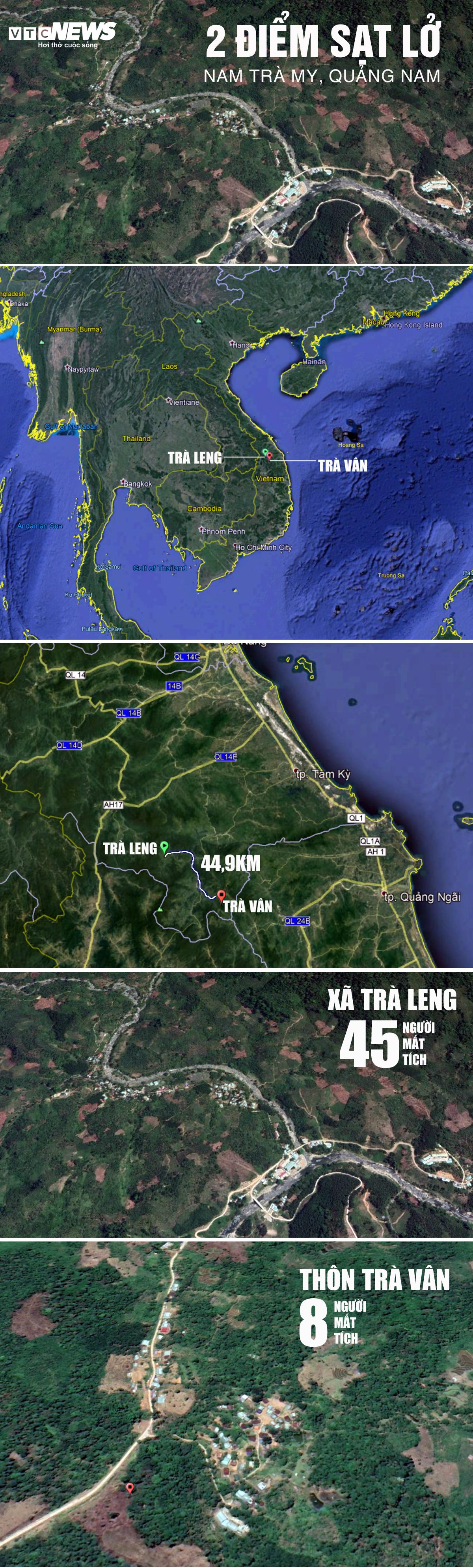 Cả gia đình Bí thư xã Trà Leng và nhiều hộ dân ở Nam Trà My mất liên lạc từ chiều 28/10 - Ảnh 3.