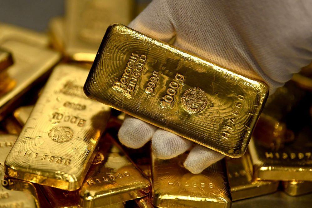 Giá vàng trong nước đồng loạt lao dốc - Ảnh 1.