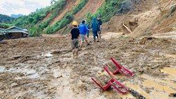 Hiện trường vụ sạt lở ở Phước Sơn, Quảng Nam khiến 11 người mất tích