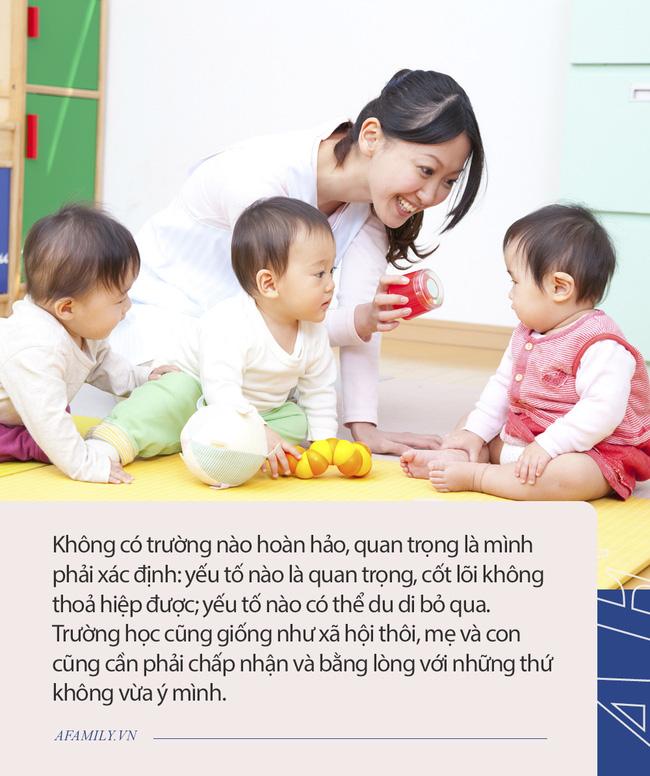 Mẹ 2 con chia sẻ tường tận các mô hình trường học ở Sài Gòn và 6 kinh nghiệm cực hữu ích khi chọn trường mẫu giáo cho con - Ảnh 4.