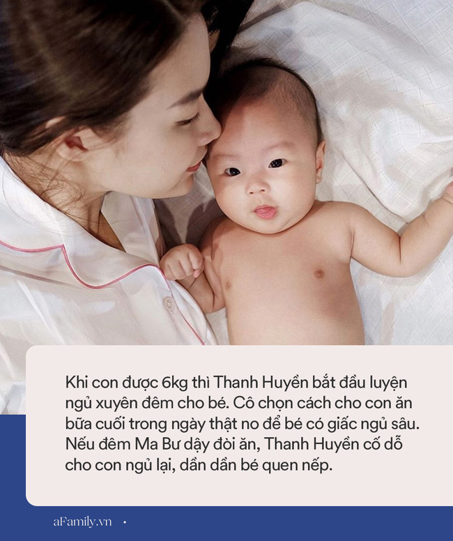 Học bà xã Rhymastic cách luyện ngủ xuyên đêm cho con cực hiệu quả, đúng là