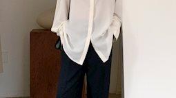 4 kiểu áo mix đẹp cùng quần ống suông, diện lên vừa hack dáng lại vừa sang xịn