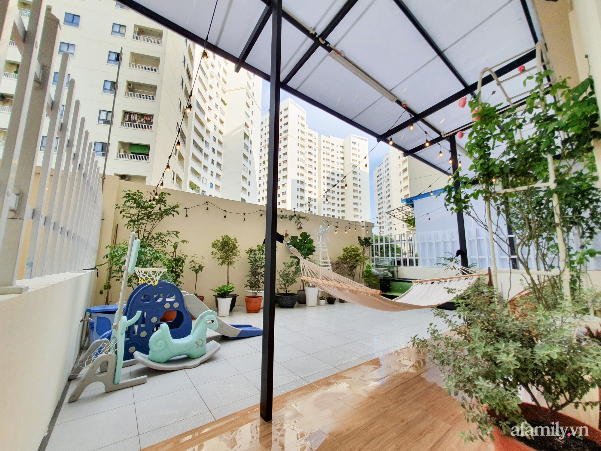 Căn hộ 180m² được vợ chồng trẻ cải tạo vừa ở vừa làm vườn có chi phí 550 triệu đồng ở Sài Gòn - Ảnh 13.