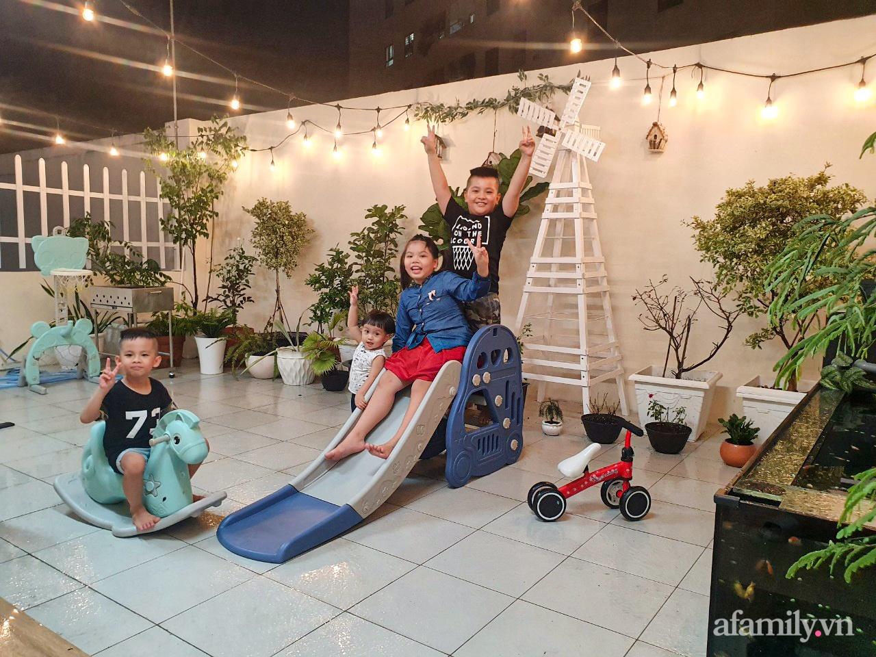 Căn hộ 180m² được vợ chồng trẻ cải tạo vừa ở vừa làm vườn có chi phí 550 triệu đồng ở Sài Gòn - Ảnh 18.