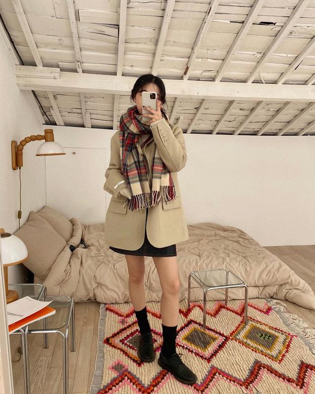 Gái Hàn mặc blazer trông sang chảnh chứ không hề già, các nàng học ngay 10 công thức để có set đồ trendy không cần hỏi - Ảnh 8.