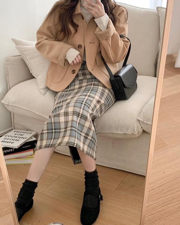 Gái Hàn mặc blazer trông sang chảnh chứ không hề già, các nàng học ngay 10 công thức để có set đồ trendy không cần hỏi - Ảnh 10.