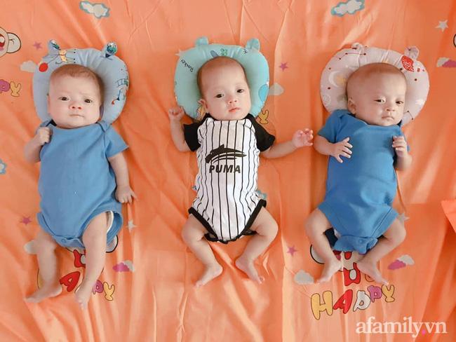 Mẹ trẻ mang thai 3 bụng rạn rướm máu ai nhìn cũng xót, sinh xong một mình chăm 3 bé nhiều lúc stress không muốn nhìn mặt con - Ảnh 7.