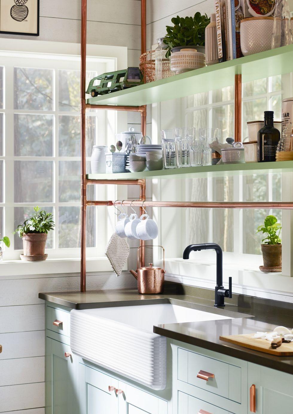 Chỉ với một góc nhỏ xíu, bạn có thể biến thành nhà bếp dễ thương với 4 chiến lược thông minh này - Ảnh 4.