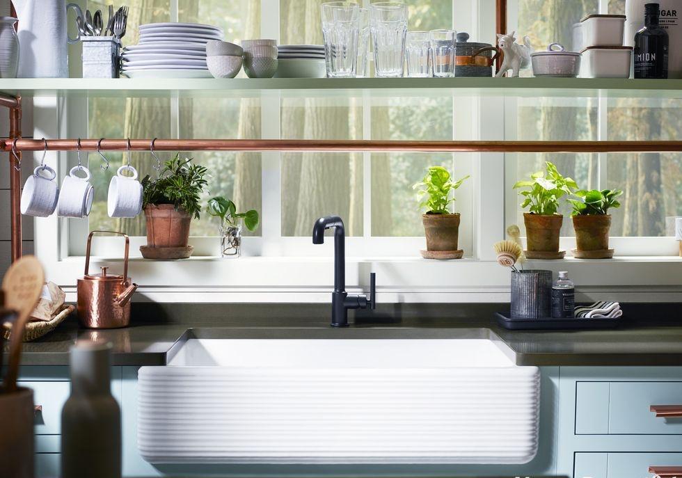 Chỉ với một góc nhỏ xíu, bạn có thể biến thành nhà bếp dễ thương với 4 chiến lược thông minh này - Ảnh 2.