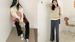 3 kiểu quần không thể thiếu cho mùa lạnh, vừa ấm lại vừa sang xịn chốn sở làm