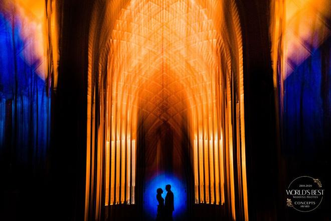 15 ảnh cưới nổi bật và sáng tạo nhất của thập kỷ được công bố - Ảnh 13.