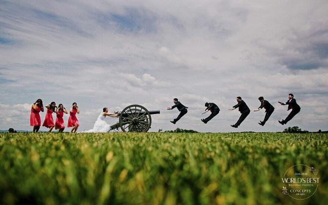 15 ảnh cưới nổi bật và sáng tạo nhất của thập kỷ được công bố - Ảnh 15.
