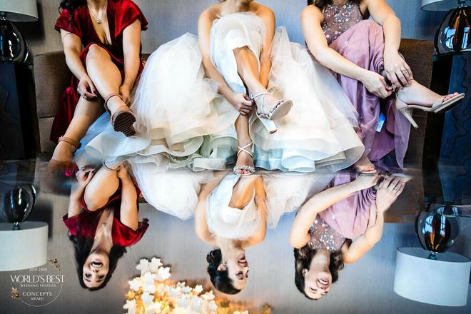 15 ảnh cưới nổi bật và sáng tạo nhất của thập kỷ được công bố - Ảnh 10.