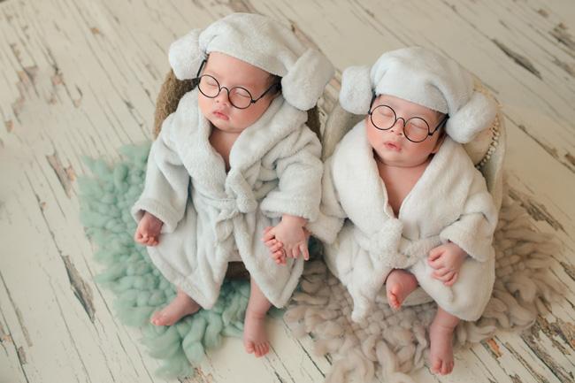 Ngắm trọn bộ ảnh đáng yêu của cặp song sinh nhà Dương Khắc Linh - Sara Lưu - Ảnh 6.