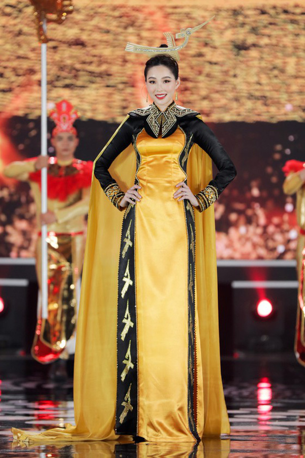 Đặng Thu Thảo gây sốt với loạt ảnh tái xuất tại Chung kết Hoa Hậu Việt Nam 2020, thế nào mà cả dàn sao Vbiz phải trầm trồ? - Ảnh 8.