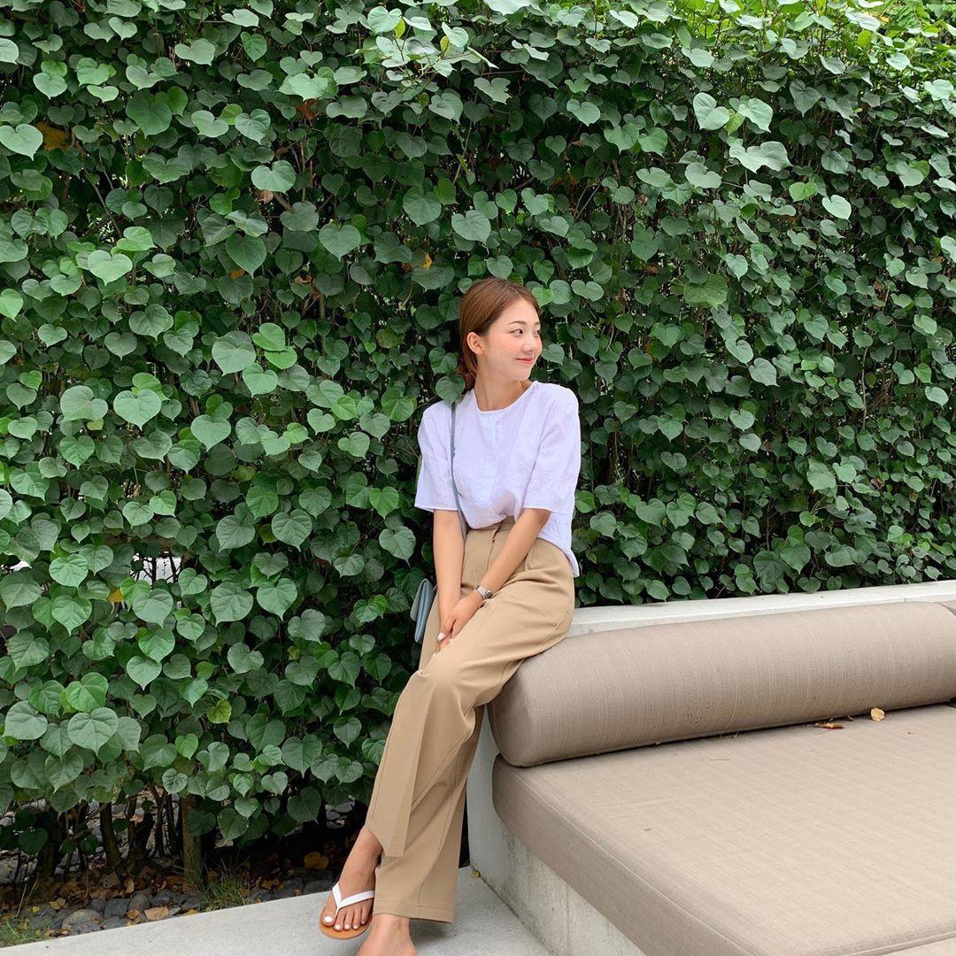 Hội con gái Hàn hay mix quần ống suông với 3 kiểu áo này để ghi điểm sành điệu và sang xịn nhất - Ảnh 3.