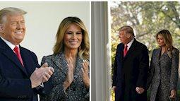 Dính nghi án hôn nhân trục trặc, Tổng thống Trump đáp lại bằng cử chỉ đầy tinh tế với Đệ nhất phu nhân trong lần xuất hiện mới nhất