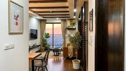 Ra riêng, chàng trai mua căn hộ 77m2 cực chóng vánh, quyết định đập thông 2 căn phòng để rộng rãi nhất có thể