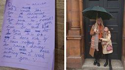 Cô bé viết thư gửi ông già Noel nhưng khăng khăng không cần quà, gây bão MXH vì nói ra điều mà ai cũng đều mong ước