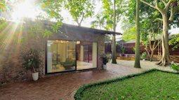 Nhà cấp 4 rộng 45m² đẹp yên bình có chi phí hoàn thiện 300 triệu đồng ở Hà Nội