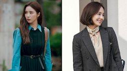 11 outfit công sở hot nhất trong các drama Hàn: Đơn giản và chuẩn thanh lịch, xua tan nỗi lo mặc xấu khi đi làm